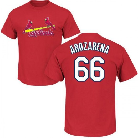 Randy Arozarena St. Louis Cardinals Youth Red Roster Name & Number T-Shirt -