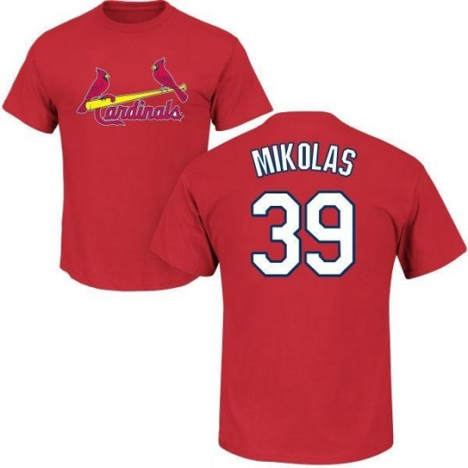 Miles Mikolas St. Louis Cardinals Youth Red Roster Name & Number T-Shirt -